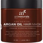 Art Naturals Argan Oil Hair Mask; Makes Hair Soft and Smooth; 100% Organic; Repairs Damaged Hair; Deep Conditioner