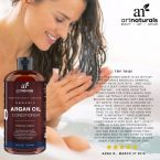 Art Naturals Argan Oil Daily Hair Conditioner; Treats Damaged Hair to Make it Healthy; Sulfate Free; For All Hair Types