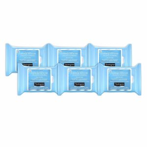 Neutrogena Makeup Remover Cleansing Towelettes Removes 99.3% of Makeup; Dissolves even Waterproof Mascara; Clean Skin on the Go