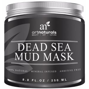 Art Naturals Dead Sea Mud Mask for Face, Body and Hair; Skin-Deep Detoxification and Revitalization; Anti-Aging Formula for Younger-Looking Skin