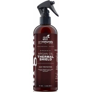 Art Naturals Thermal Hair Protector; Natural Formula to Restore Hair Volume & Moisture; Protects Hair from Damages
