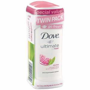 Dove Go fresh Anti-Perspirant Deodorant Revive; Effective 48-Hours Underarm Protection; Refreshing Nature-Inspired Scent