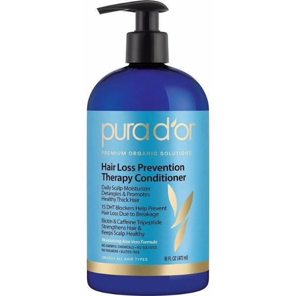 PURA D'OR Hair Loss Prevention Therapy Conditioner; Treats Hair Loss, Hair Fall and Thinning Hair; Promotes Healthy Hair Growth