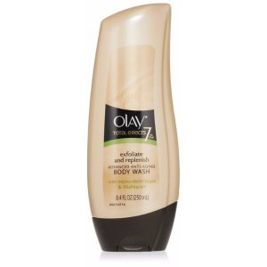 Olay Total Effects Advanced Anti-Aging, Deep Penetrating Moisture Body Wash; Gentle Skin Exfoliation; Replenishes Nutrients and Moisture