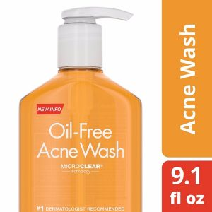 Neutrogena Oil-Free Acne Wash; Infused with Salicylic Acid; With MicroClear Technology for Preventing Acne and Breakouts