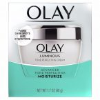 Olay Regenerist Luminous Tone Perfecting Cream; Instant Skin Hydration; With Brightening Complex for Skin Radiance; Formula for Correcting Tone