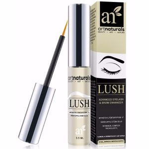ArtNaturals Eyelash Growth Serum Pentapeptide 17 and Swiss Apple Stem Cells; For Thicker and Resilient Brows and Lashes