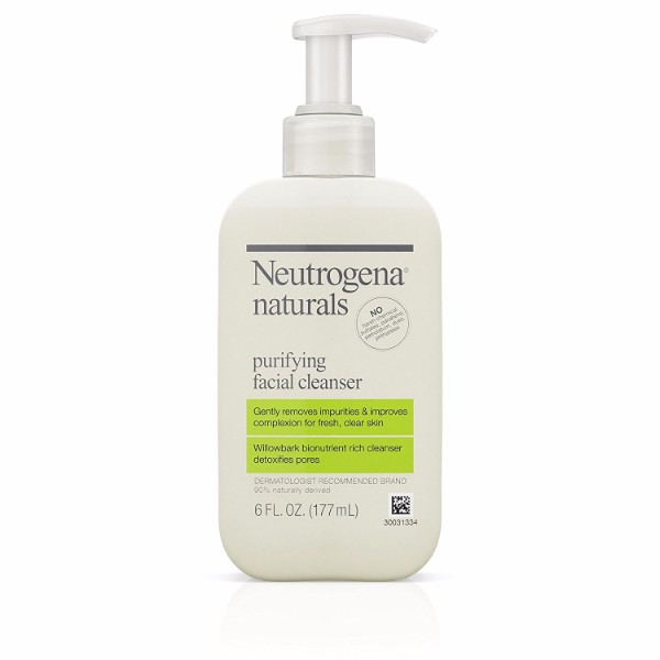 Neutrogena Purifying Facial Cleanser; Gentle Face Wash; With Salicylic Acid for Acne Prevention; Leaves the Skin Fresh and Clear