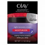 Olay Regenerist Night Recovery Cream; Overnight Skin Hydration; For Improved Skin Texture and Firmness
