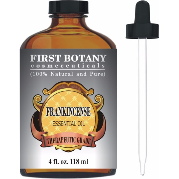 First Botany Cosmeceuticals Essential Oil With A Glass Dropper; For Relaxing Aromatherapy; Moisturizes Skin Naturally