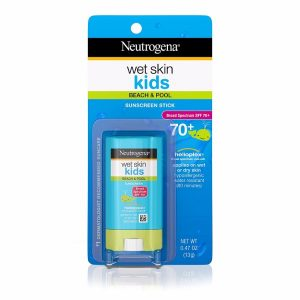Neutrogena Wet Skin Kids Stick Sunscreen; With Broad Spectrum SPF+; Effective Even On Wet Skin