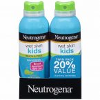 Neutrogena Wet Skin Kids Sunscreen Spray; With Broad Spectrum SPF 70+; Ultimate Protection from Sun Damages
