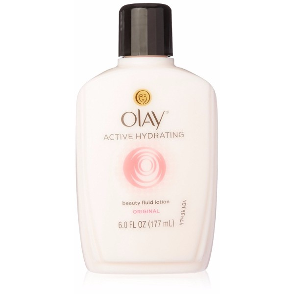 Olay Active Hydrating Beauty Fluid; Soothes Dry and Dull Skin; Fades Signs of Skin Aging; Leaves the Skin Smooth and Soft