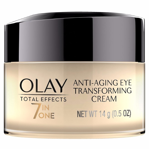 Olay Total Effects Anti-Aging Eye Cream Treatment; For Firm and Radiant Skin; Boosts Skin Cell Renewal