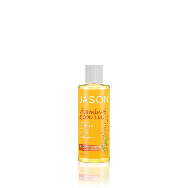 Jason Vitamin E Body Nourishment Oil; For Soft and Healthy Skin; Soothes Dry Spots