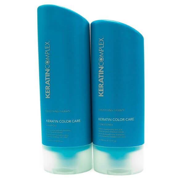 Keratin Complex Keratin Color Care Duo; Gentle Shampoo for All Hair Types; Hydrating Conditioner