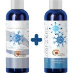 Maple Holistics Natural Mint Shampoo and Conditioner Set; For Men and Women; With Pure Essential Oils