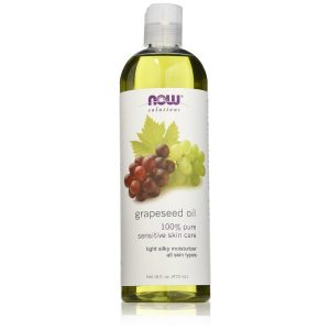NOW Foods Grape Seed Oil; Light Moisturizer for All Skin Types; For Soft and Silky Hair