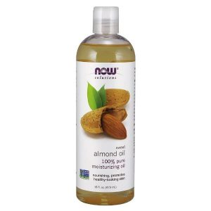 NOW Foods Sweet Almond Oil; Moisturizing Oil for Softer Skin; Nourishes All Skin Types