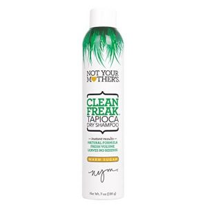 Not Your Mother's Clean Freak Tapioca Dry Shampoo; Removes Dirt and Excess Oil from Hair; Builds Hair Volume