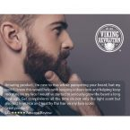 Viking Revolution Beard Oil Conditioner; Promotes Beard Growth; Prevents Beardruff and Itchiness