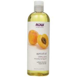 NOW Foods Apricot Kernel Oil; Moisturizing Oil for Skin; Relieves Dry Hair