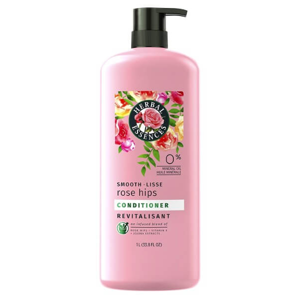 Herbal Essences Smooth Collection Conditioner; With Rosehip and Jojoba Extracts; Leaves Hair Shiny and Smooth
