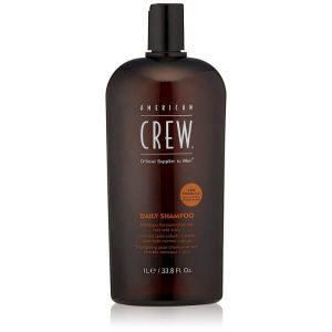 American Crew Men's Daily Shampoo; Cleanses Scalp Gently; Promotes Healthy Hair Growth
