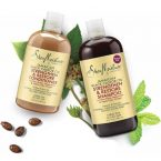 Shea Moisture Strengthen and Restore Shampoo and Conditioner; Promotes Healthy Hair Growth; Removes Product Build-Up