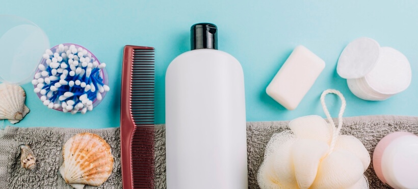 Shampoo and other bathing accessories